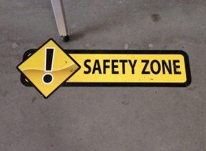 Custom safety floor graphics